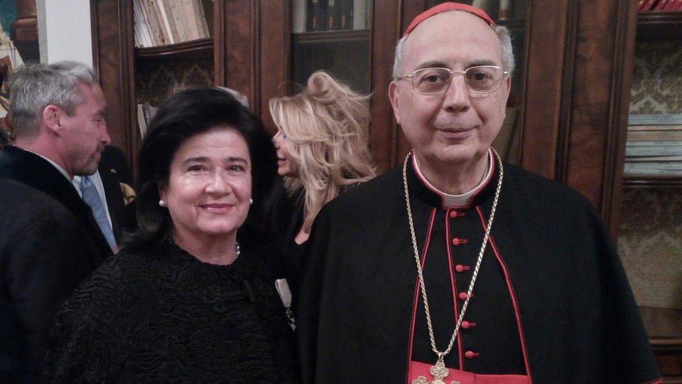 Elisabetta Righi Iwanejko nuovo presidente dell'Associazione San Marino-Italia