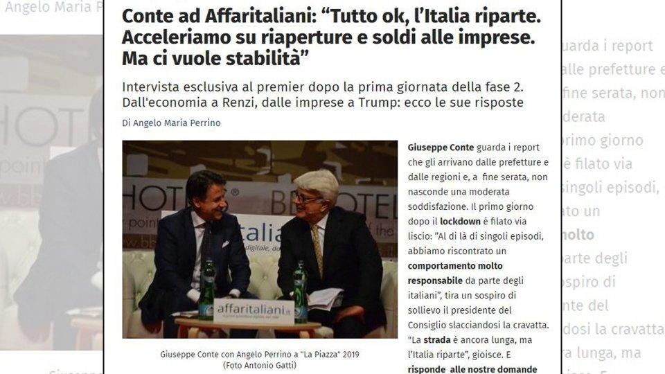 """Fase2, Conte traccia il primo bilancio: """"Italiani responsabili, ma la strada è lunga"""""""