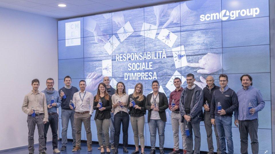 Una social app per avvicinare migliaia  di colleghi in tutto il mondo: il progetto  dei dipendenti Scm Group