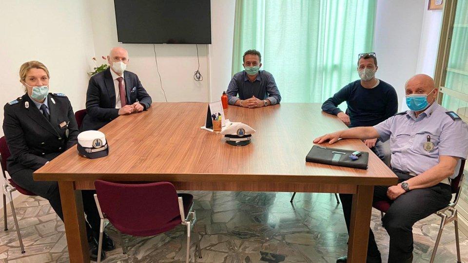 Misano Adriatico accoglie il nuovo comandate della Polizia Locale