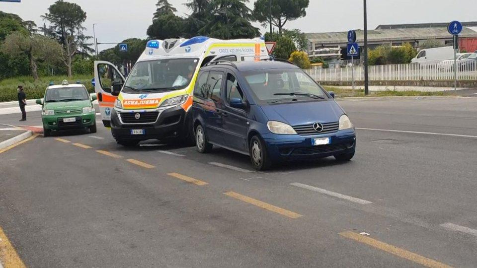 Incidente sulla Marecchiese, 63 enne investita sulle strisce pedonali