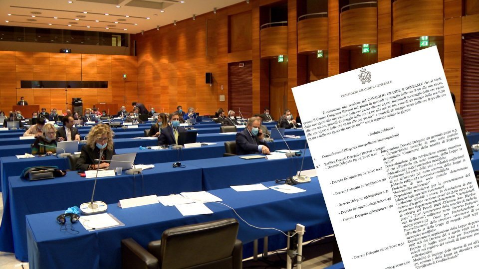 Il Consiglio si concentra su Decreti e Progetti Legge di iniziativa popolare