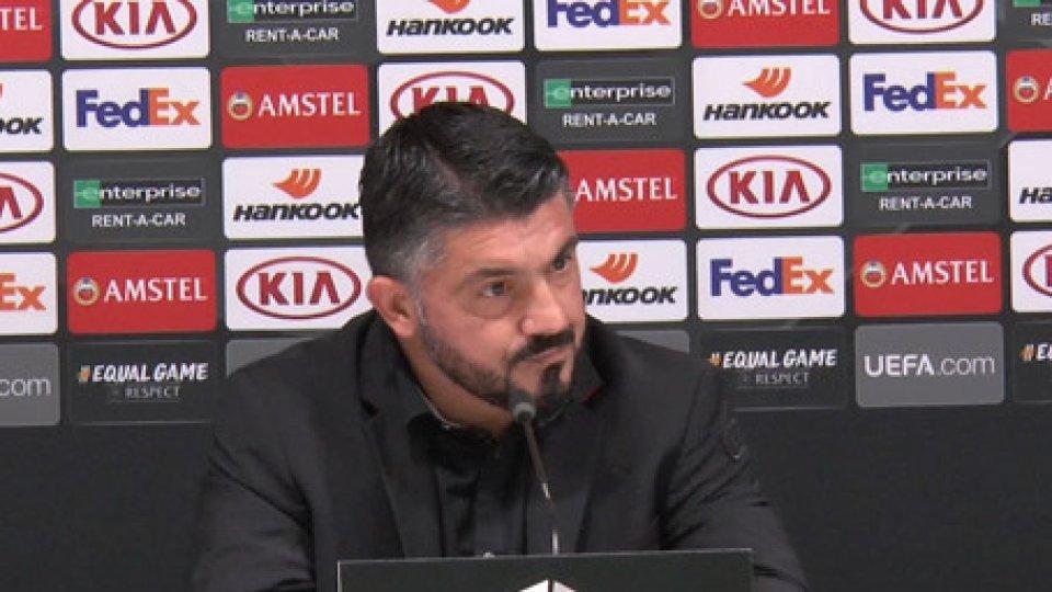"Rino GattusoCrisi Milan, Gattuso: ""mi assumo tutte le responsabilità"""