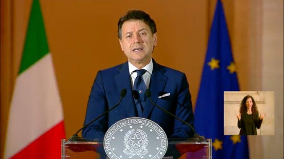 Conferenza stampa Giuseppe ConteImmagine di repertorio