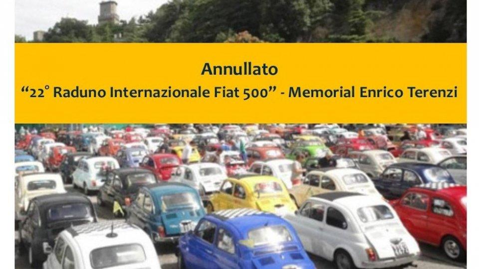 """Annullato il """"22° Raduno Internazionale Fiat 500"""""""