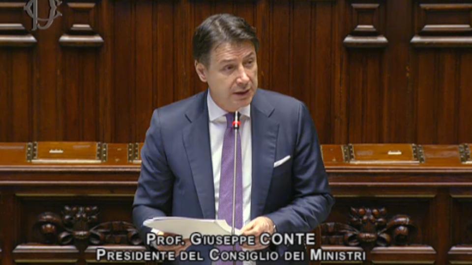 @cameradeputatiSentiamo Giuseppe Conte
