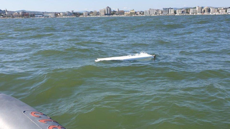 Affonda peschereccio a Cattolica: salvi i due marinai dell'equipaggio
