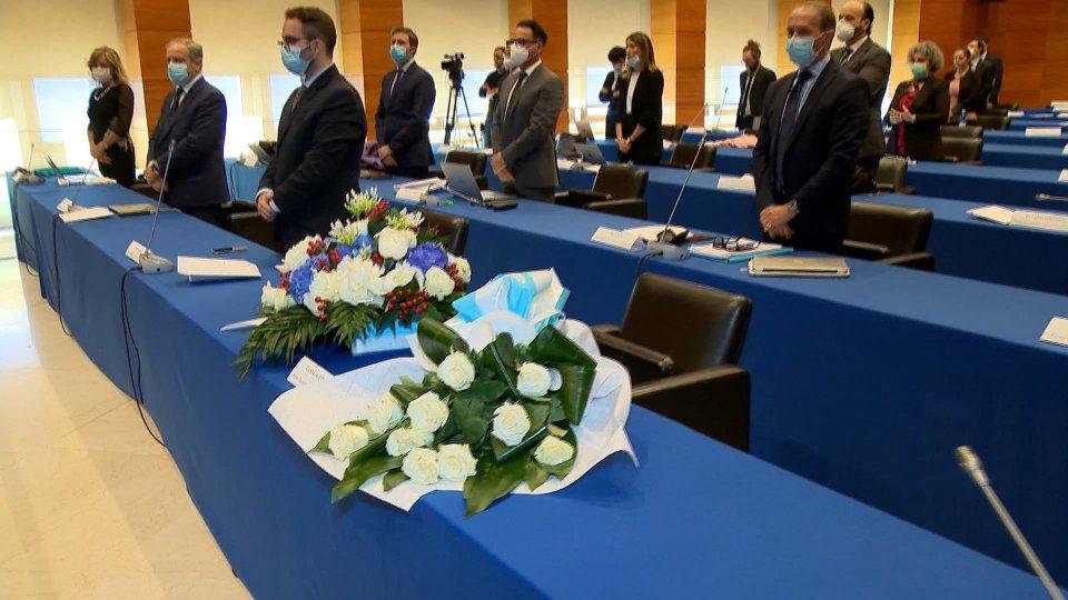 In apertura di Consiglio il ricordo di Gian Franco Terenzi. Umano e commovente il discorso dei Capitani Reggenti