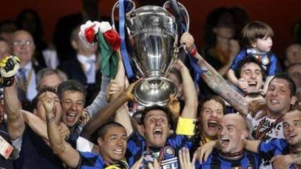 L'Inter festeggia il decennale del Triplete