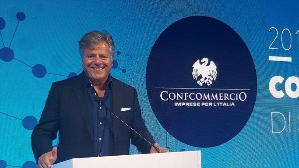 """Gianni Indino, presidente Confcommercio della provincia di Rimini: """"Credo nei giovani, ma serve più responsabilità personale""""."""