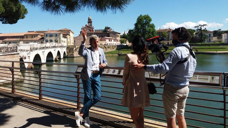 Continua il racconto dei media tedeschi sulla ripartenza turistica di Rimini: in città i corrispondenti di Faz e Sat.1
