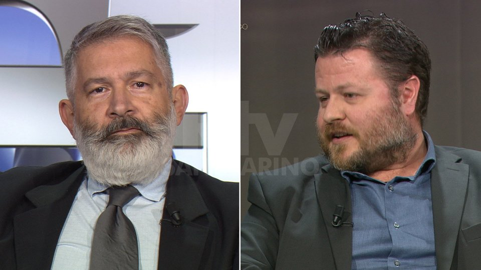 Paolo Rondelli e Emanuele Santi