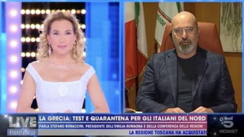 Foto: canale 5Luca Zaia