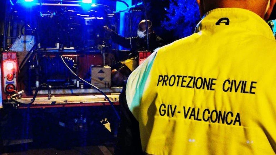 Valconca: gli 82 giorni intensi di Protezione Civile e volontari