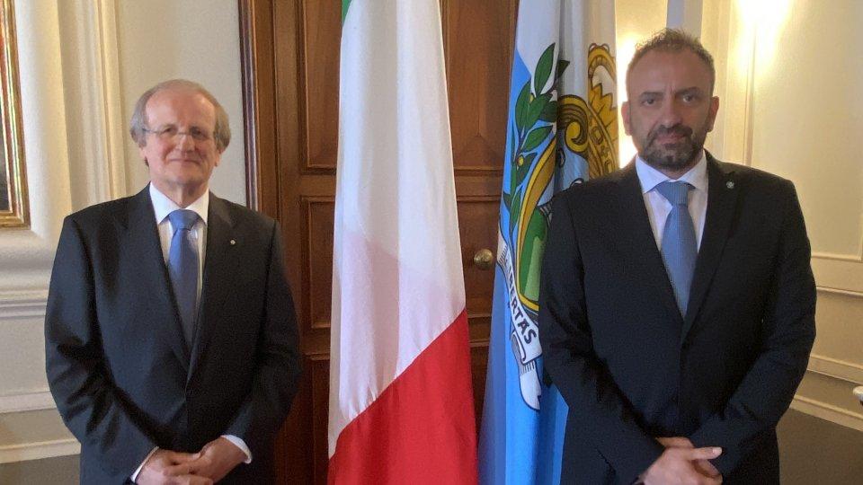 Incontro con Amb. d'Italia Cerboni per la Festa della Repubblica Italiana