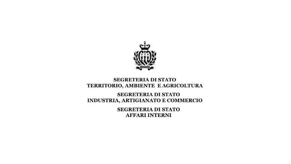 Segreterie Territorio, Industria, Interni: premio San Marino Green Award per l'impresa