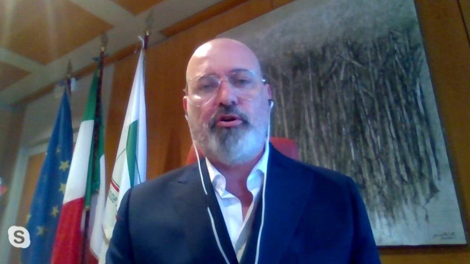 Stefano Bonaccini via Skype