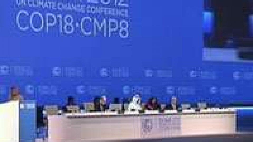 Conferenza Onu sul clima a Doha
