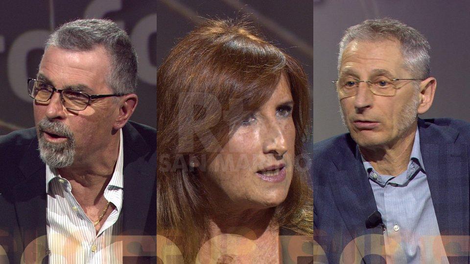 Giuliano Tamagnini, Giorgia Giacomini e Gianluca Montanari