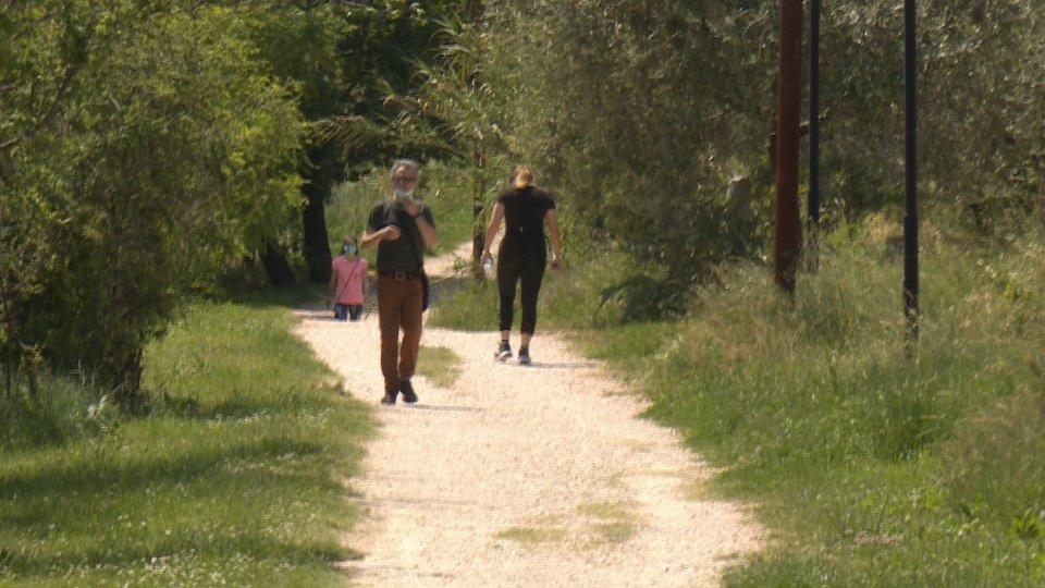 Sanità: regolamentato l'accesso alle aree verdi per persone in isolamento