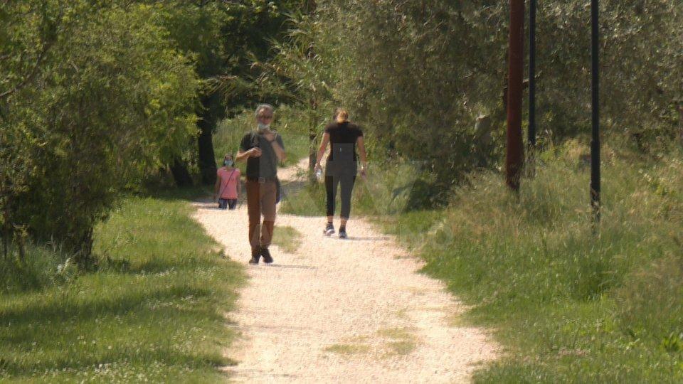 Al via le passeggiate controllate nei parchi per positivi al coronavirus