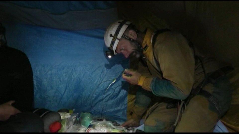 Speleologi bloccati nel Comasco, a dare l'allarme il sammarinese Fabio Bollini