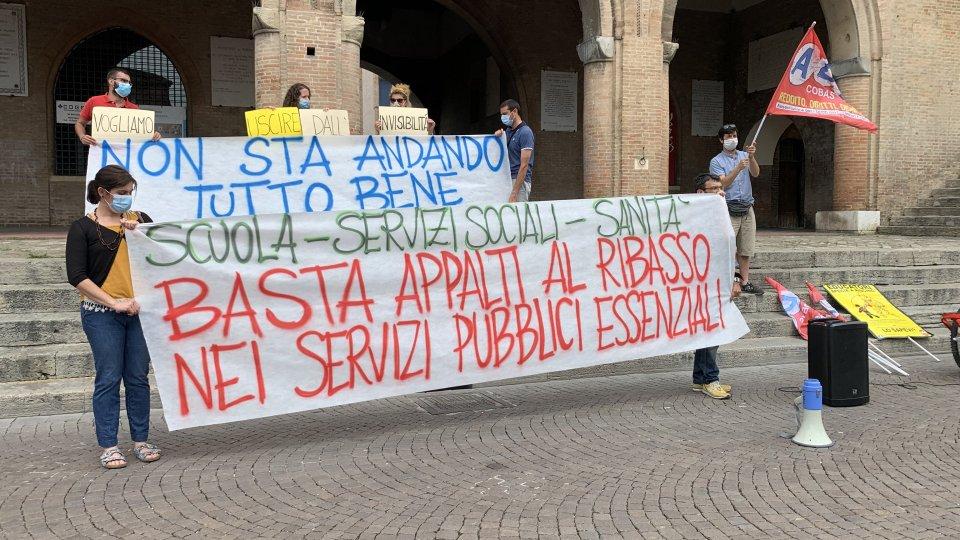 A Rimini presidio educatori educatrici servizi in appalto