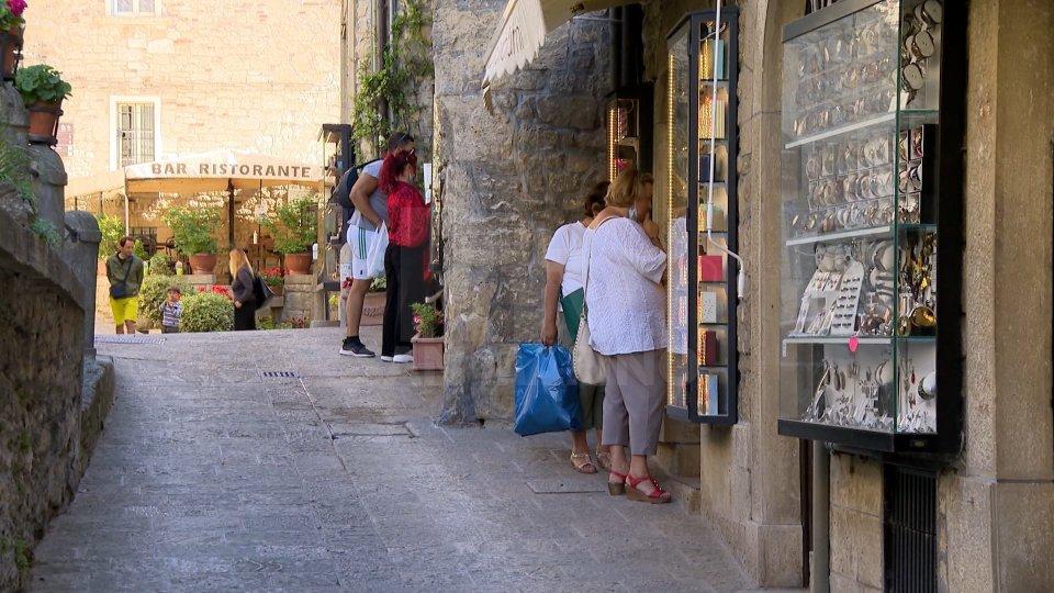 Ufficio Turismo: L'andamento dell'occupazione dei parcheggi nel Centro Storico di San Marino nella giornata odierna