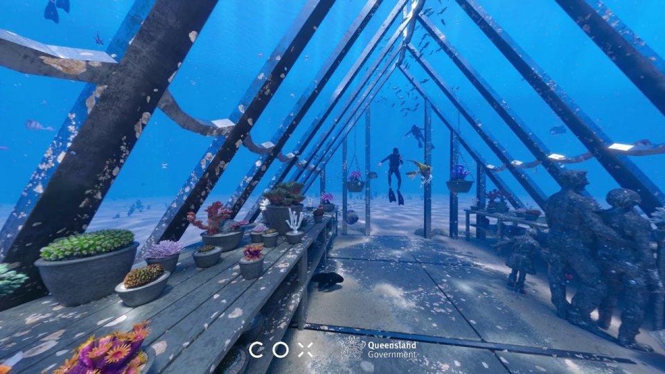 Coral Greenhouse il primo museo subacqueo del mondo