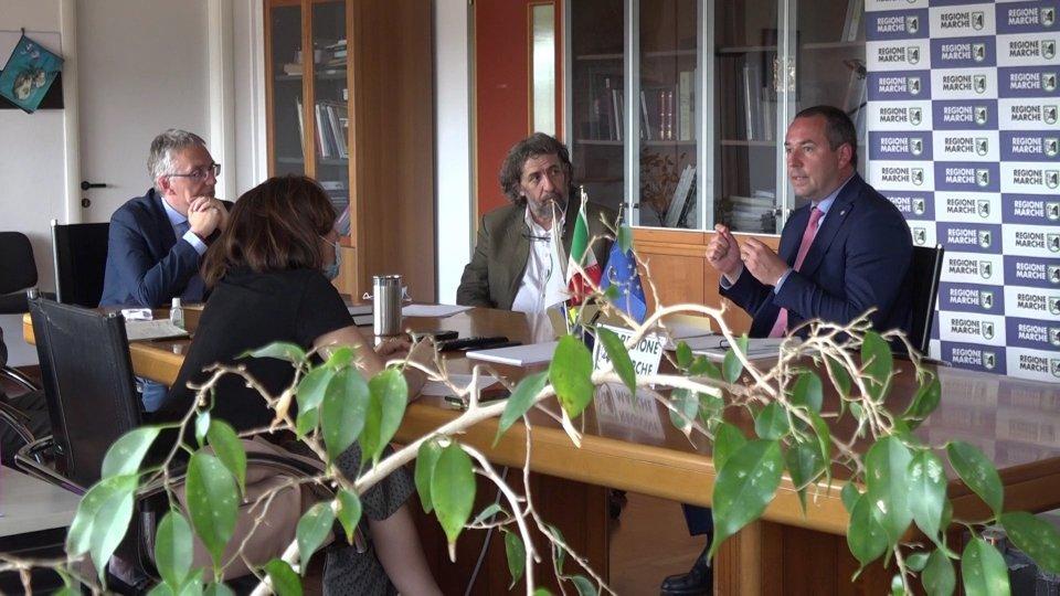 San Marino - Regione Marche: Lonfernini incontra  Ceriscioli, allo studio protocollo per ampliare gli ambiti di collaborazione