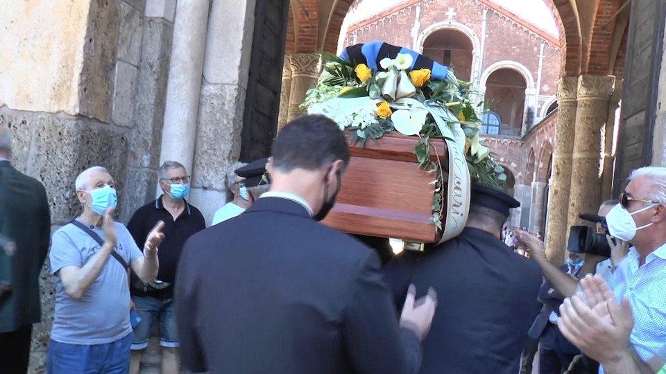 L'ultimo saluto a Mariolino Corso