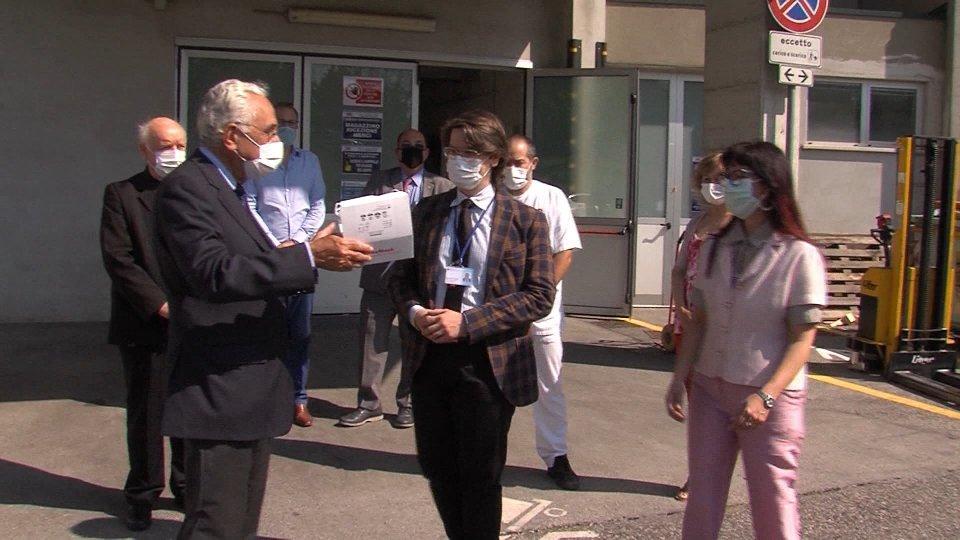 Sovrano Militare Ordine di Malta: donate 3000 mascherine e gel igienizzante all'ISS