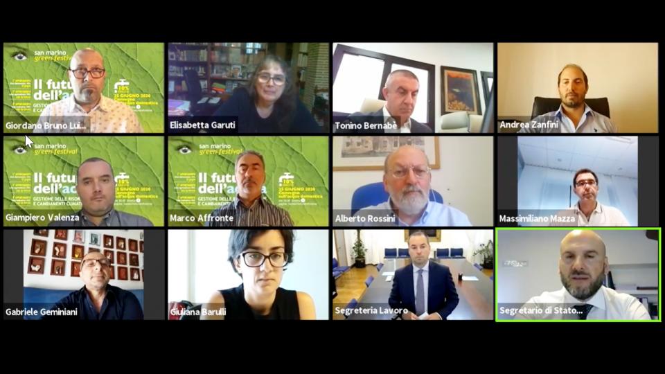 Tante voci e tante idee per il futuro dell'acqua. Un convegno online a cura del San Marino Green Festival per parlare di gestione, consumi e cambiamenti climatici