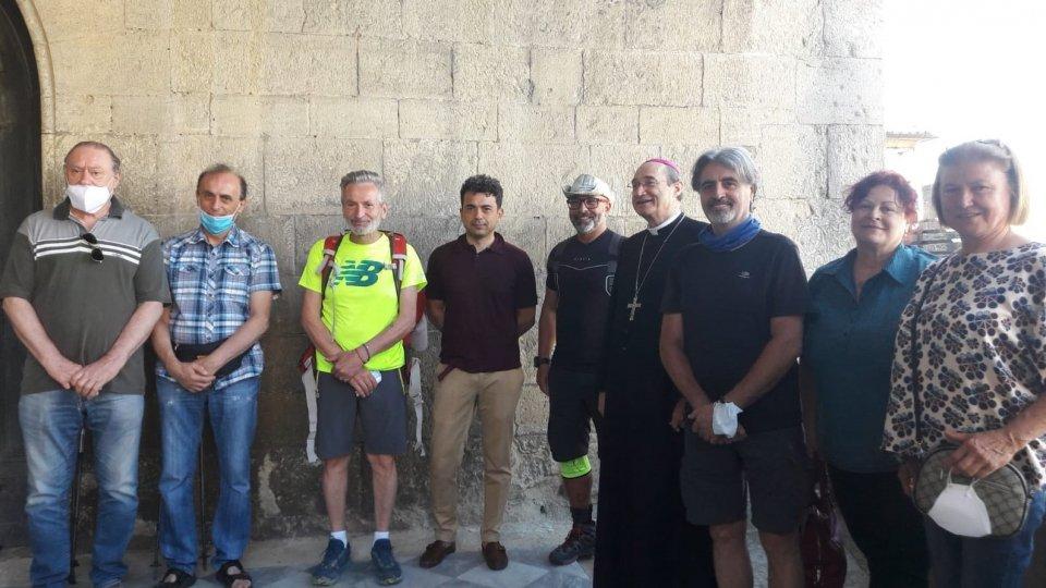 Parte il pellegrinaggio San Marino-Loreto