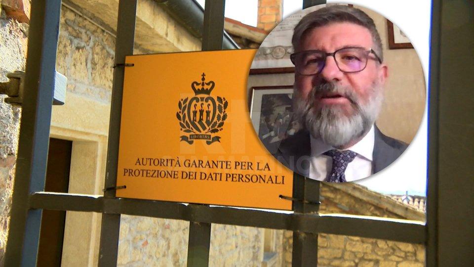Nel servizio l'intervista a Nicola Fabiano (Presidente Autorità Garante San Marino)