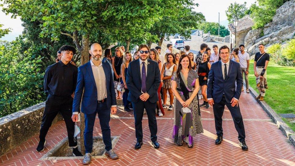 Marlù Gioelli una sera con i Tiktokers: 1 milione di giovani scoprono San Marino