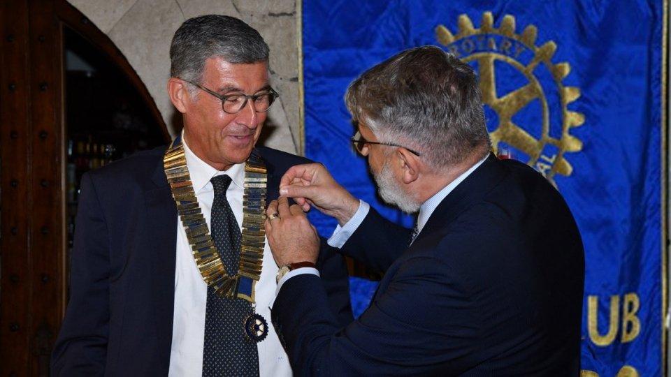 Passaggio di consegne al Rotary San Marino: Arnaldo Antonini nuovo presidente 2020-1