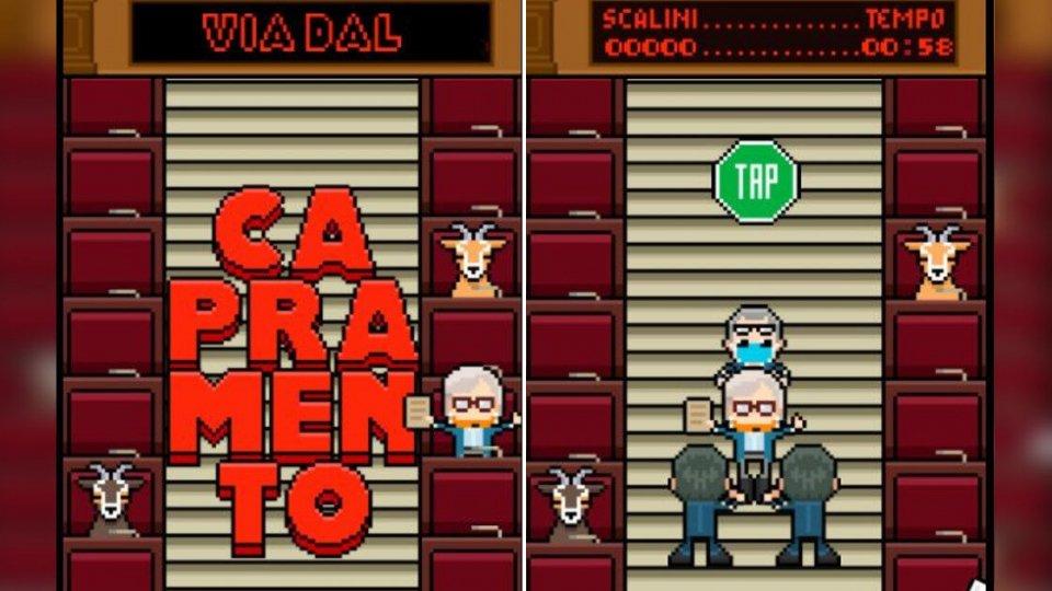Sgarbi: Capramento è il nuovo videogame on line