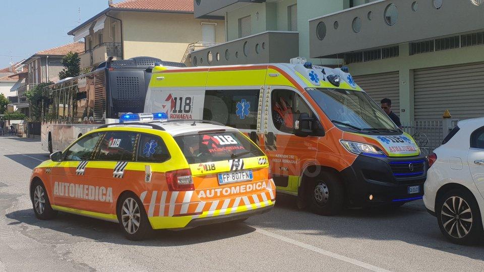 Incidente a Rimini: investito bambino da un autobus