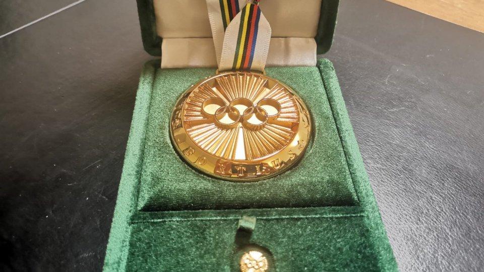 """La prestigiosa medaglia """"Pierre De Coubertin"""" donata al Museo dello Sport e dell'Olimpismo da Marino Ercolani Casadei"""