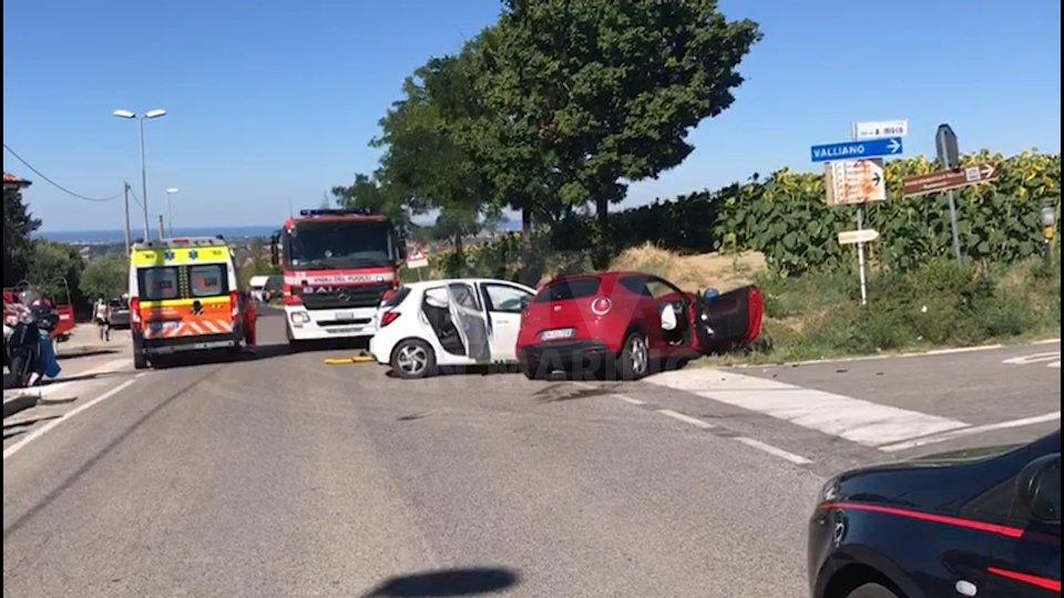 Nel video le immagini dell'incidente
