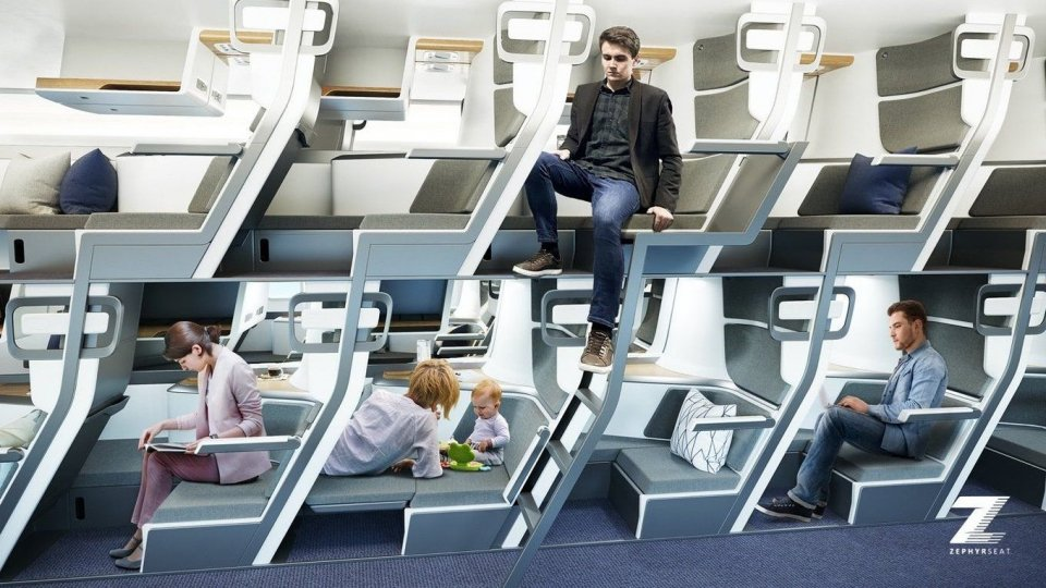 Le compagnie aeree si adeguano e ridisegnano gli spazi sugli aeromobili