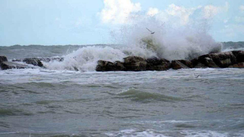 Rimini: allerta per vento e stato del mare