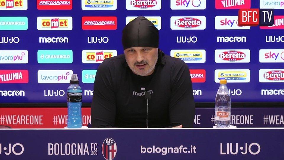 Le dichiarazioni di mister Mihajlovic nel pre partita