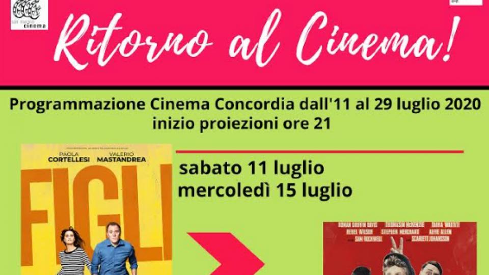 San Marino, riapre il cinema Concordia