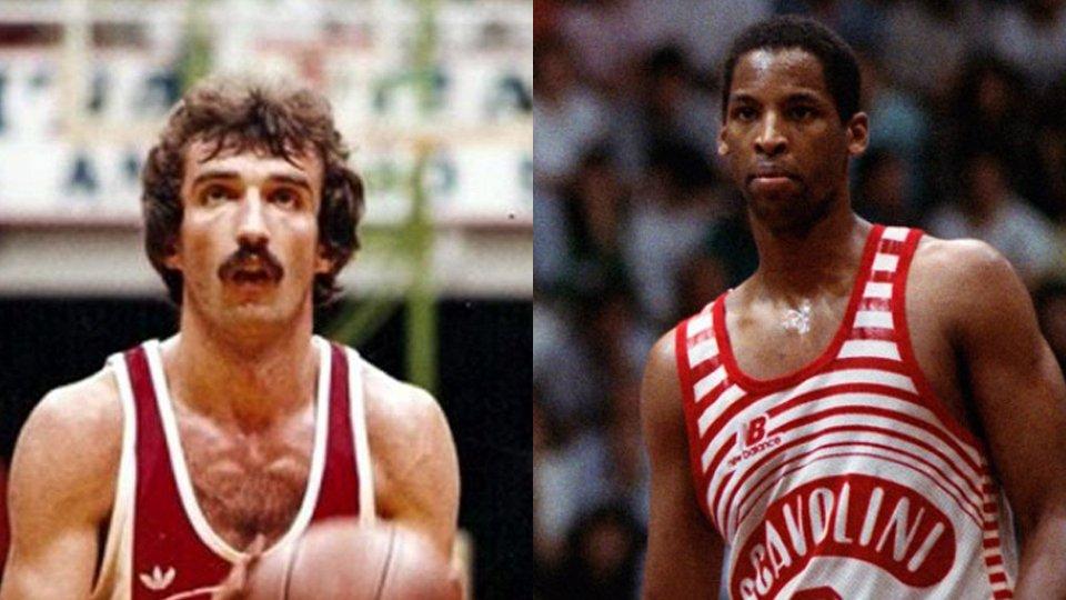 Due grandi stranieri del Basket Pesaro