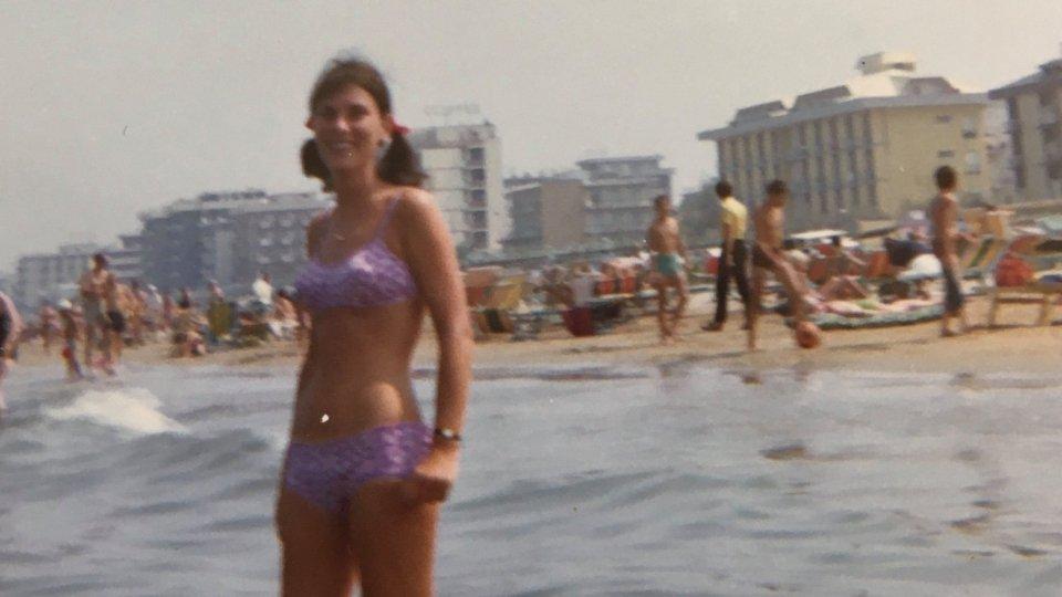 La madre di Sandy nel 1969