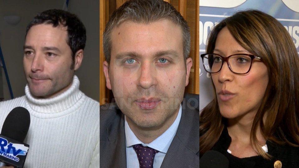 Manuel Ciavatta, Stefano Giulianelli e Alice Mina