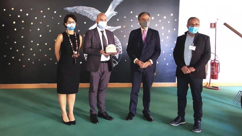 Il Segretario Canti a Milano per consegnare il San Marino Green Awards alla distilleria Branca