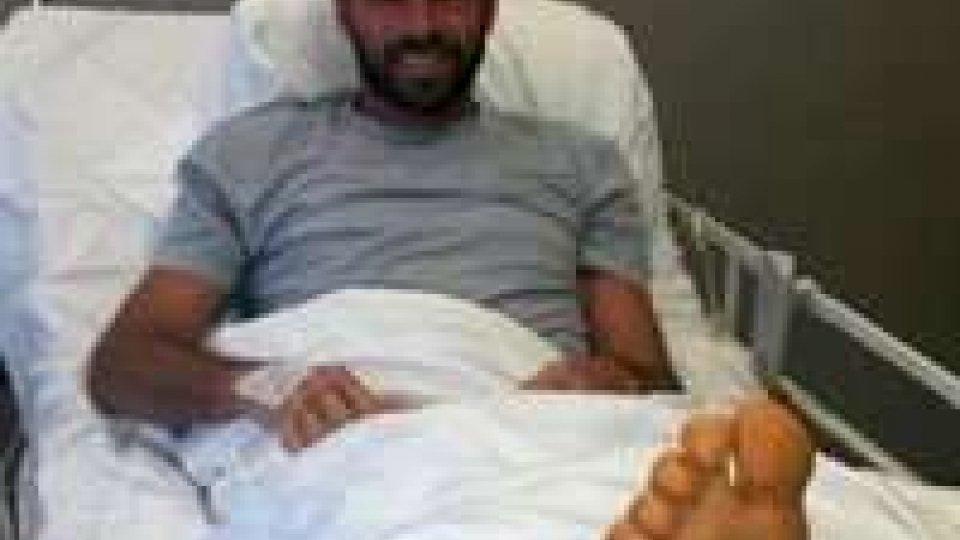 Juve, Barzagli operato al piede destro: starà fuori tre mesi